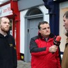 Watch: student leader confronts FG TD outside his occupied constituency office