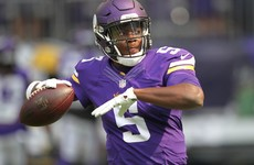 Vikings QB Teddy Bridgewater went down with a 'significant' knee injury that could end season