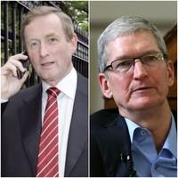 Taoiseach spoke to Apple CEO before bombshell tax announcement