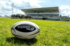 A new seated stand is in place at the Sportsground for Connacht's upcoming season