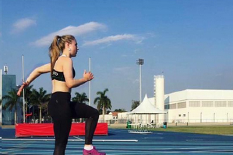 Comerford training in Rio this week.