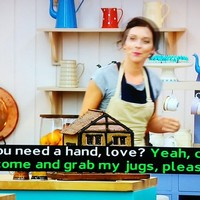 Tonight's GBBO was officially the filthiest, most innuendo-laden episode yet