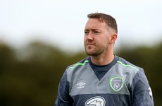 Aiden McGeady stayed behind at Ireland's team hotel tonight to complete loan move to Preston