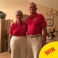 This teenager's lovely grandparents wear matching outfits every day