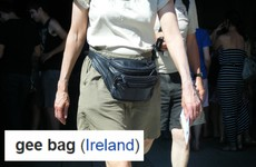 Someone has made a cheeky Irish edit to the Wikipedia page for fanny packs