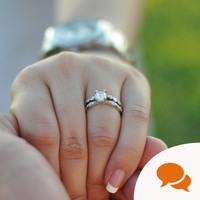 Ignore the sexist advice - wear your engagement ring with pride, ladies
