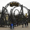 Passengers stuck for 30 minutes on Alton Towers rollercoaster which crashed last year