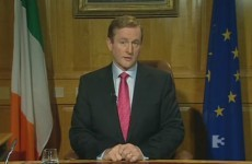 In full: Taoiseach Enda Kenny's address to the nation
