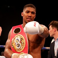 Anthony Joshua announces world title defence for November