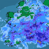 They're getting absolutely lashed out of it down at Electric Picnic