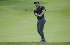 McIlroy back in the mix after much-improved second round in Massachusetts