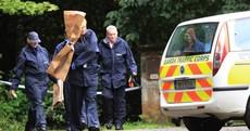 Gardaí remove items of evidence from Philip Finnegan crime scene