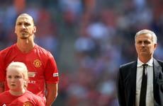 Ibrahimovic hails 'masterbrain' Mourinho