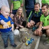 Tipperary's All-Ireland winners visited Crumlin Children's Hospital today with Liam MacCarthy
