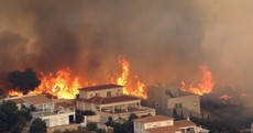 Hundreds evacuated from popular Spanish resort as crews battle wildfire