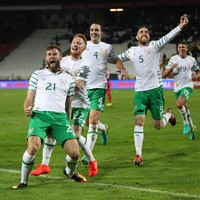 Murphy ends 23-game goal drought as Ireland come away from Belgrade with a point
