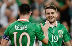 Robbie Brady inherits Ireland number 10 shirt from Robbie Keane