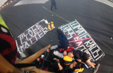 Black Lives Matter protesters who locked themselves together on London runway arrested