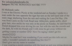 A Laois woman has appealed to local radio to find a man she met at Electric Picnic