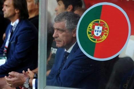 Portugal's coach Fernando Santos (file pic).