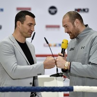 Date confirmed for Tyson Fury's world title rematch with Wladimir Klitschko