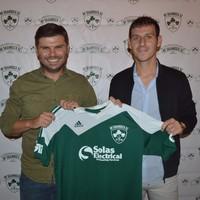 Armagh footballer Jamie Clarke has joined a soccer team in New York