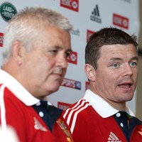 'The last week in 2013 was a tough one' - Gatland on Lions job