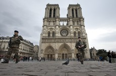 Two arrested after potential car bomb found near Notre Dame cathedral in Paris