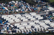 """Britain is building a """"monstrous"""" wall at the Calais refugee camp"""