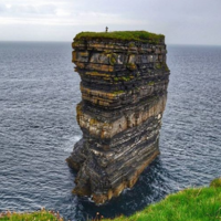 Two daredevils climbed this beautiful Mayo landmark for the first time in 25 years