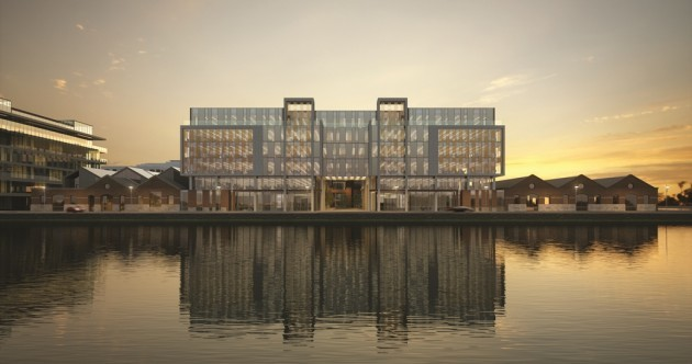 Construction begins on top of the range €100 million Dublin office building