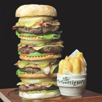 A pub in Bray has introduced a frankly outrageous burger challenge