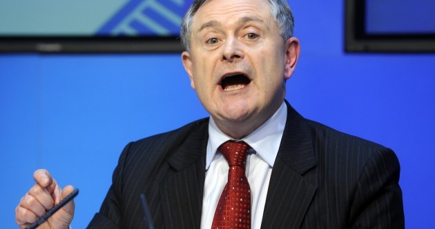 Caption competition: What is Brendan Howlin saying?
