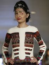 Two years after having her face doused in acid, survivor wows New York Fashion Week