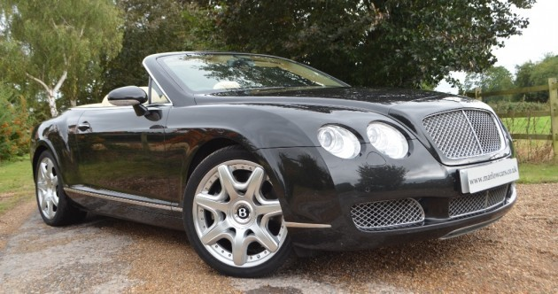 Dream car of the week: Bentley Continental GT Convertible