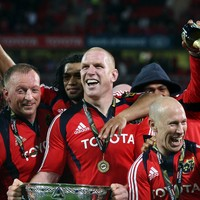 'Expectations are probably realistic in Munster for the first time in a long time'