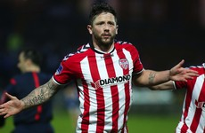 Derry win in Wexford to move a step closer to a third FAI Cup final in 5 years