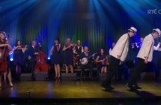 Nobody could cope with this céilí cover of Smooth Criminal on The Late Late Show
