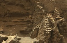 Nasa's Curiosity rover has sent back some holiday pics from Mars