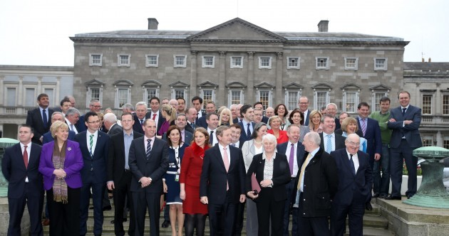 What do politicians eat in Leinster House?