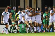 Connacht collapse as Ospreys deal second home defeat of Pro12 defence