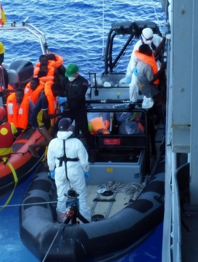 The LÉ James Joyce has rescued another 108 migrants in the Mediterranean