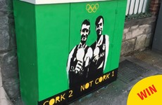 The most Cork bit of graffiti popped up in the city over the weekend