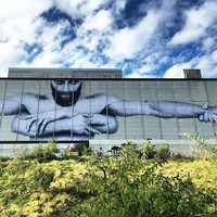 Joe Caslin is back with a stunning new mural in Waterford in aid of Pieta House