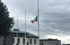 Flag flying at half mast at Limerick City Hall for Ailish Sheehan