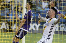 Watch: Robbie Keane's finishing instincts looking as sharp as ever for LA Galaxy