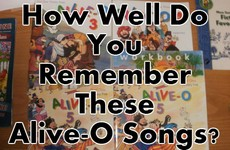 How Well Do You Remember These Alive-O Songs From Primary School?