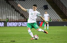 Good news on Robbie Brady's injury ahead of Ireland's World Cup qualifiers next month
