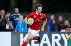 'You can see his footwork is exceptional' - Munster excited by Sweetnam