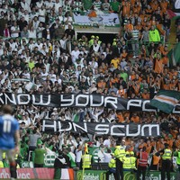 """Celtic FC won't be dragged into """"tit for tat spat"""" after hanging effigies spotted at Rangers clash"""